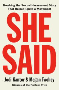 She Said La couverture du livre martien