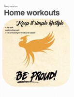 Home workout strenght and circuit training.