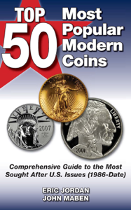 Top 50 Most Popular Modern Coins Book Cover