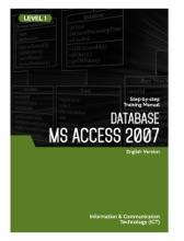 Microsoft Access 2007 Level 1