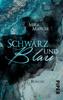 Mira Manger - Schwarz und Blau Grafik