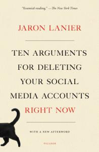 Ten Arguments for Deleting Your Social Media Accounts Right Now Copertina del libro
