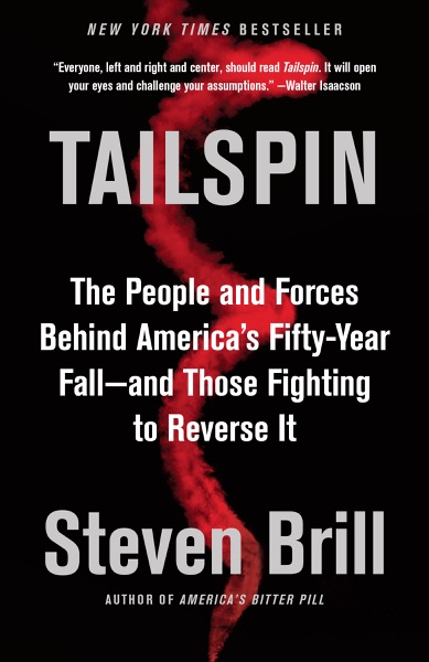 Tailspin - Steven Brill book cover