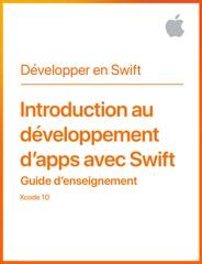 Introduction au développement d'apps avec Swift Guide d'enseignement
