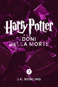 Harry Potter e i Doni della Morte (Enhanced Edition) di J.K. Rowling & Beatrice Masini Copertina del libro