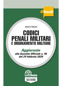 Codici penali militari e ordinamento militare Book Cover