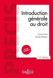 Introduction générale au droit - 11e éd.
