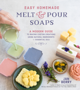 Easy Homemade Melt and Pour Soaps Book Cover