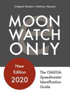 Moonwatch Only - The Speedmaster Identification Guide Copertina del libro