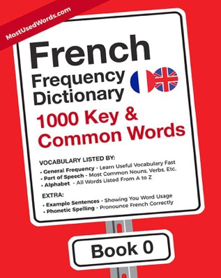 French Frequency Dictionary - 1000 Key & Common French Words in Context