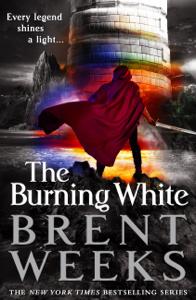The Burning White La couverture du livre martien