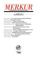 MERKUR Deutsche Zeitschrift Für Europäisches Denken