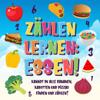 Pamparam Kinderbücher - Zählen lernen: Essen! Kannst du alle Bananen, Karotten und Pizzas finden und zählen? Grafik