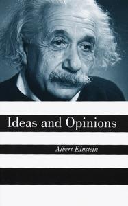 Ideas And Opinions di Albert Einstein Copertina del libro