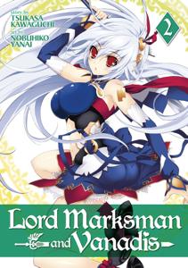 Lord Marksman and Vanadis Vol. 2 Copertina del libro