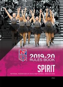 2019-20 NFHS Spirit Rules Book