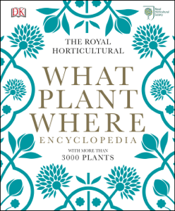 RHS What Plant Where Encyclopedia Copertina del libro