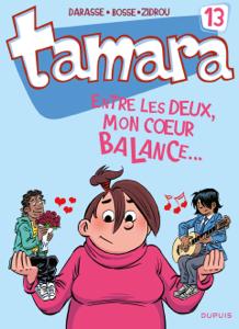 Tamara - Tome 13 - Entre les deux, mon coeur balance... La couverture du livre martien