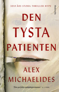 Den tysta patienten Cover Book