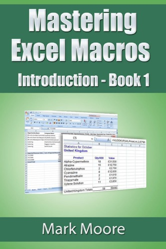 Mastering Excel Macros: Introduction E-Book Download