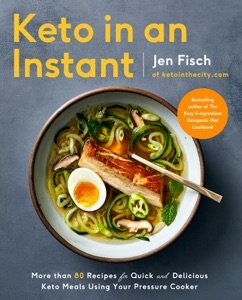Keto in an Instant by Jen Fisch Book Cover