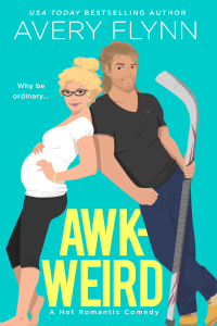 Awk-weird Book Cover