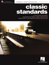 Classic Standards: Singer's Jazz Anthology - High Voice