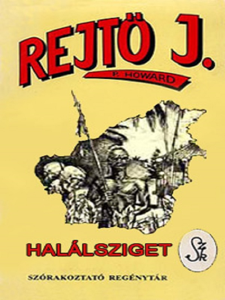 Halálsziget Book Cover