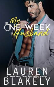 My One Week Husband Book Cover