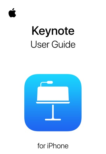 Keynote User Guide for iPhone E-Book Download