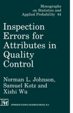 Inspection Errors For Attributes In Quality Control