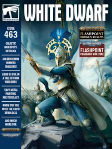 White Dwarf 463 Libro Cover