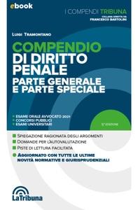 Compendio di diritto penale Book Cover