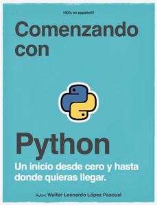 Comenzando con Python Book Cover