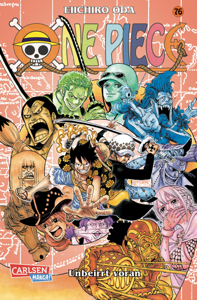One Piece 76 Buch-Cover