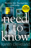 Karen Cleveland - Need To Know artwork
