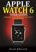 Apple  Watch 6 User Guide Book Cover