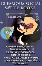 10 Famous Social Satire Books (Illustrated)