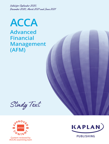 ACCA - Advanced Financial Management (AFM)