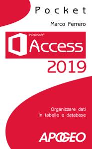 Access 2019 Copertina del libro