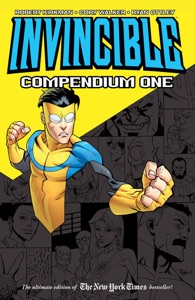 Invincible Compendium Vol. 1 by Robert Kirkman, Ryan Ottley & Cory Walker Book Cover
