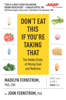 Madelyn Fernstrom & John Fernstrom - Don't Eat This If You're Taking That  artwork