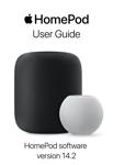 HomePod User Guide