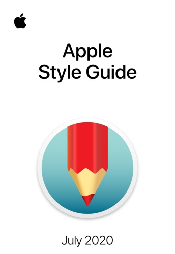Apple Style Guide E-Book Download
