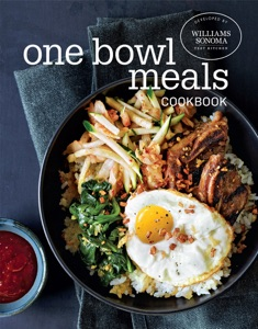 One Bowl Meals Cookbook by The Williams-Sonoma Test Kitchen Book Cover