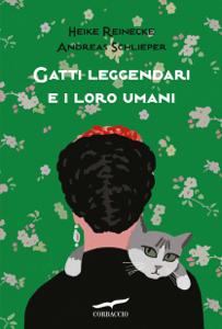 Gatti leggendari e i loro umani Copertina del libro
