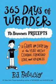 365 Days Of Wonder Mr Browne S Precepts