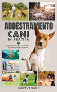 Addestramento cani in pratica Copertina del libro