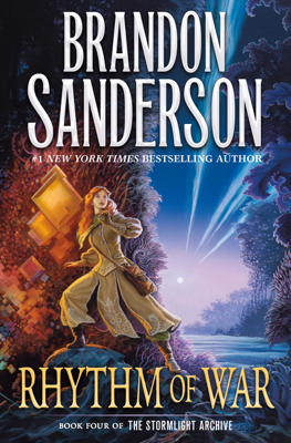 Brandon Sanderson - Rhythm of War book