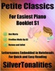 Petite Classics For Easiest Piano Booklet S1 - Ave Maria Fireflies Waltz Op 82 Romeo And Juliet Letter Names Embedded In Noteheads For Quick And Easy Reading